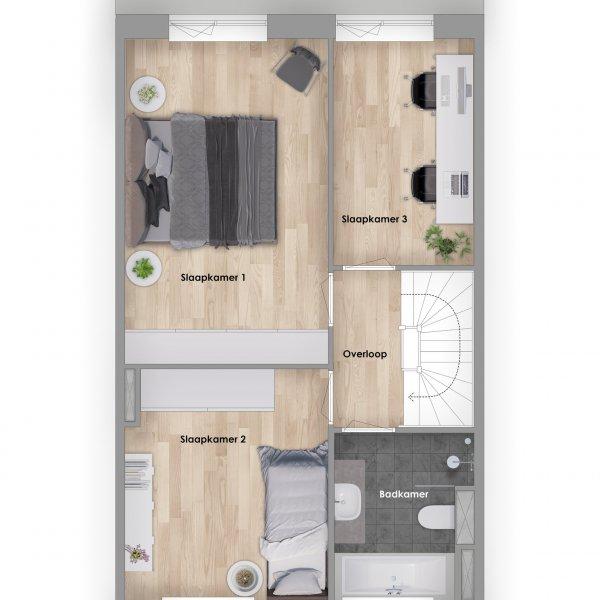 Smaragd, bouwnummer 207