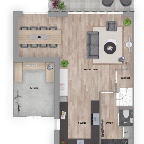 Smaragd, bouwnummer 209