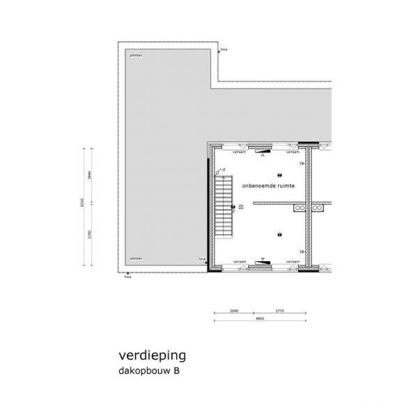 Havenmeester - Hoekwoning, bouwnummer 1