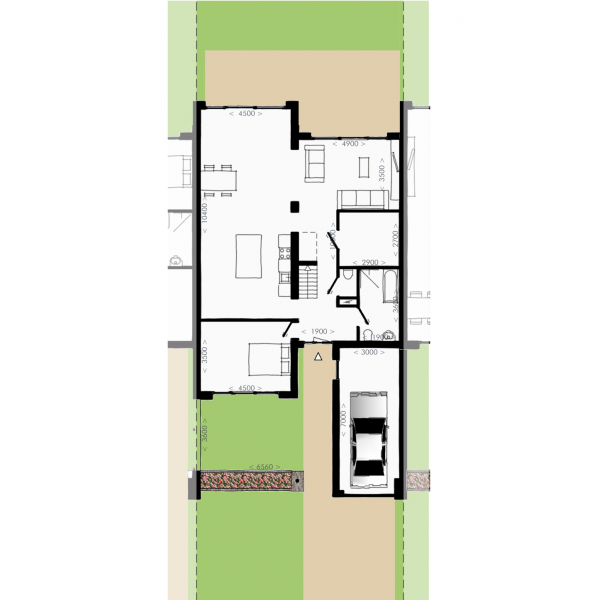 Havenmeester - Hoekwoning, bouwnummer 10