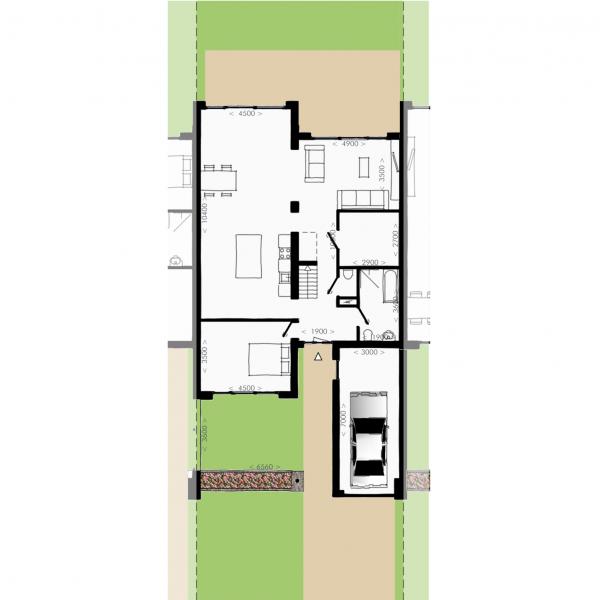 Havenmeester - Hoekwoning, bouwnummer 12