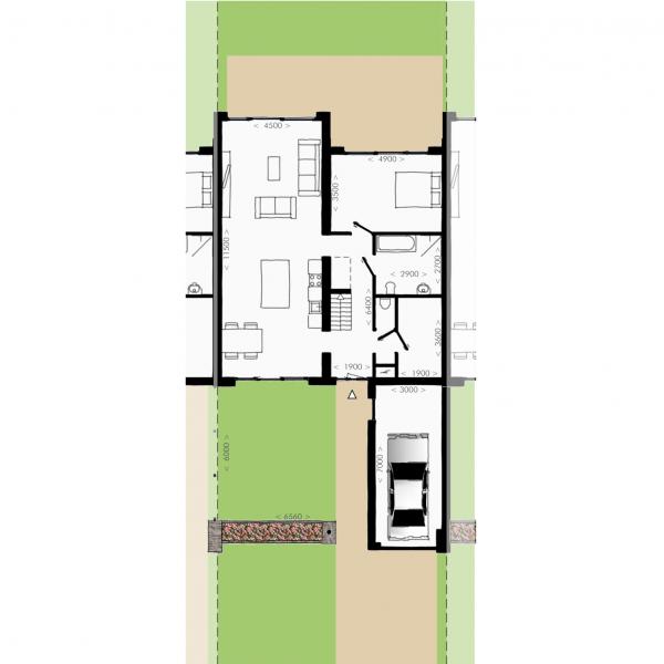 Havenmeester - Hoekwoning, bouwnummer 18