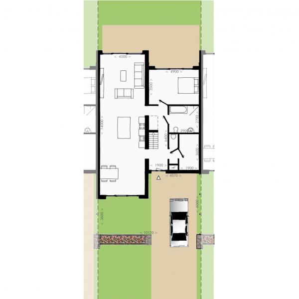 Havenmeester - Tussenwoning, bouwnummer 2