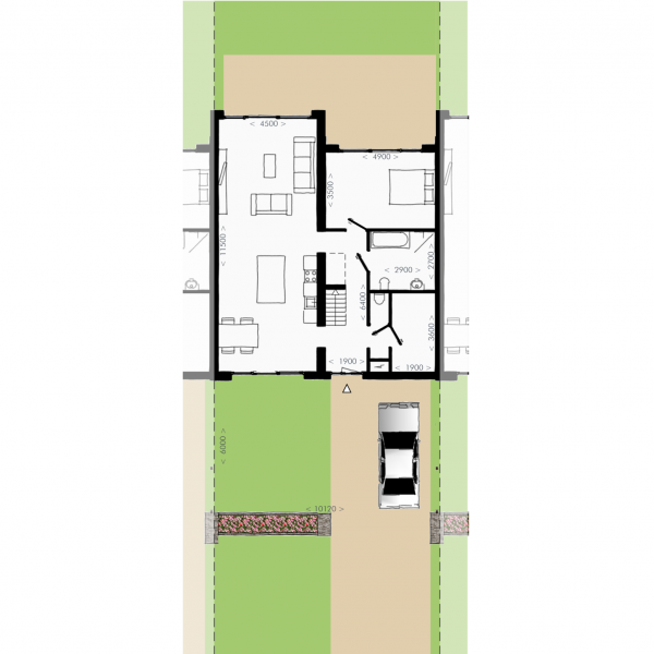 Havenmeester - Tussenwoning, bouwnummer 15