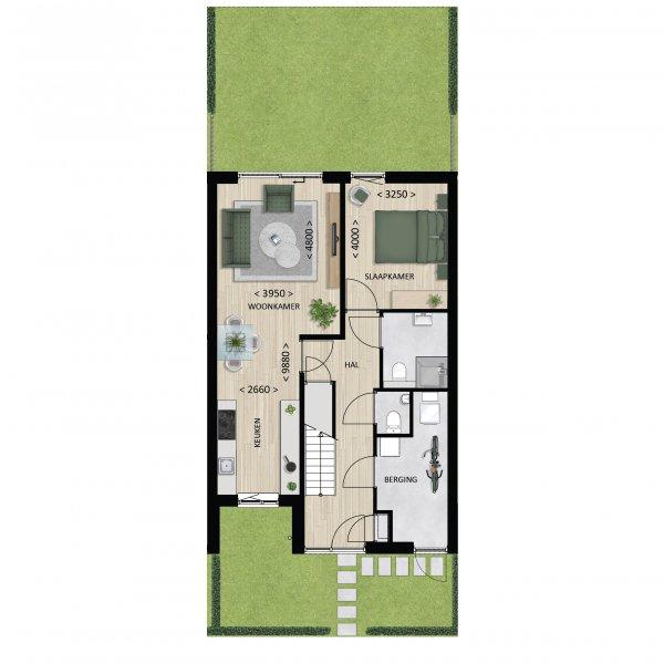 Basis, bouwnummer 2