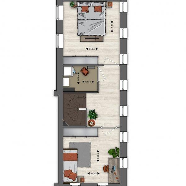 Type N (blok H10), bouwnummer 51