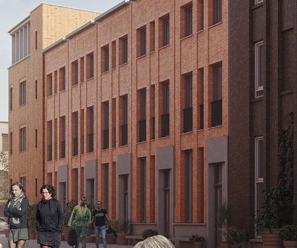 Type A Herenhuis (blok G14 en H10), bouwnummer 54