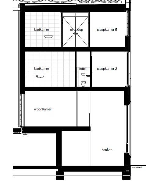 Type F (blok G14 en H10), bouwnummer 56