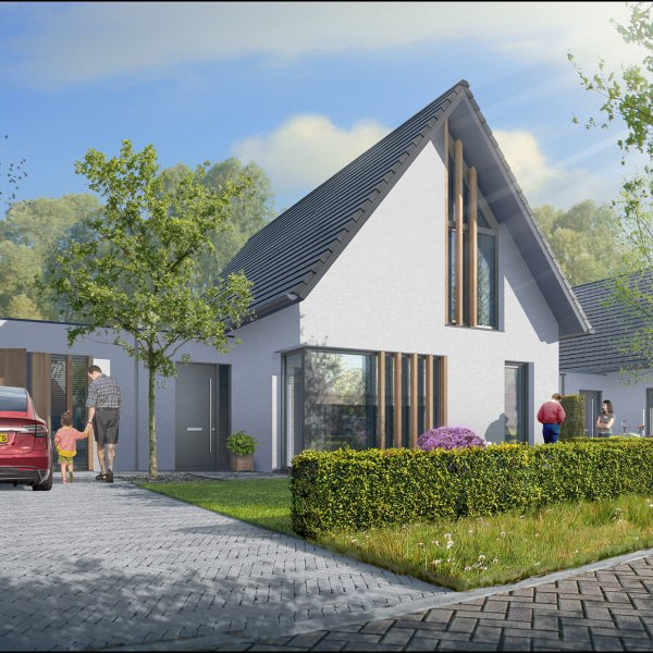 Semi bungalow, bouwnummer 43