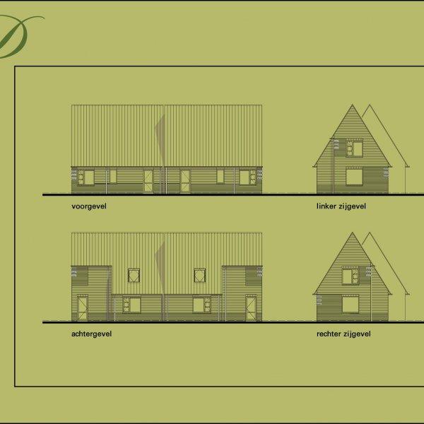 Halfvrijstaande levensloopvoorbereide woning, bouwnummer 8