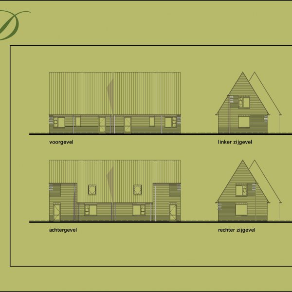 Halfvrijstaande levensloopvoorbereide woning, bouwnummer 9