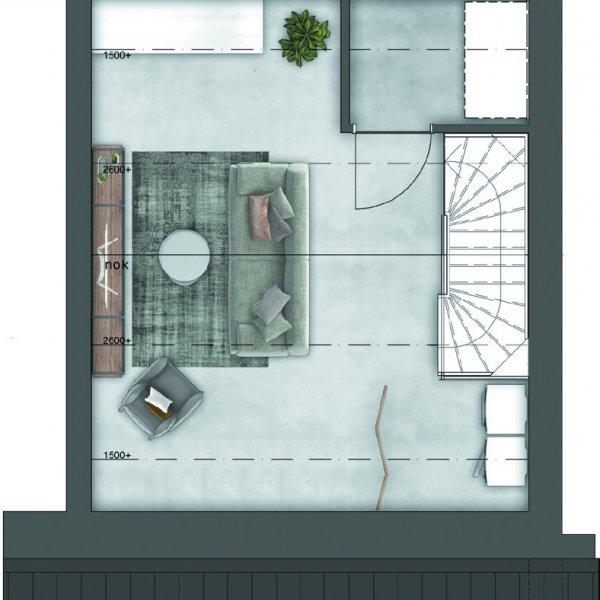 Singelwoningen, bouwnummer 64