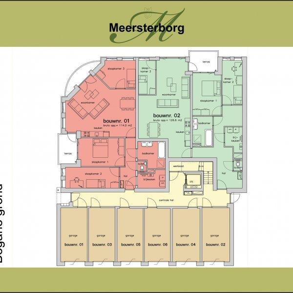 Appartement   1e verdieping, bouwnummer 3