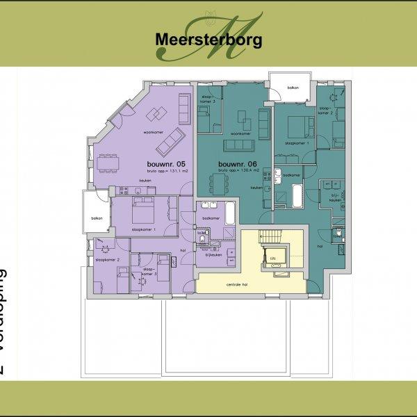 Appartement   1e verdieping, bouwnummer 4