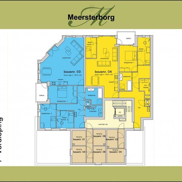 Appartement | 2e verdieping, bouwnummer 6