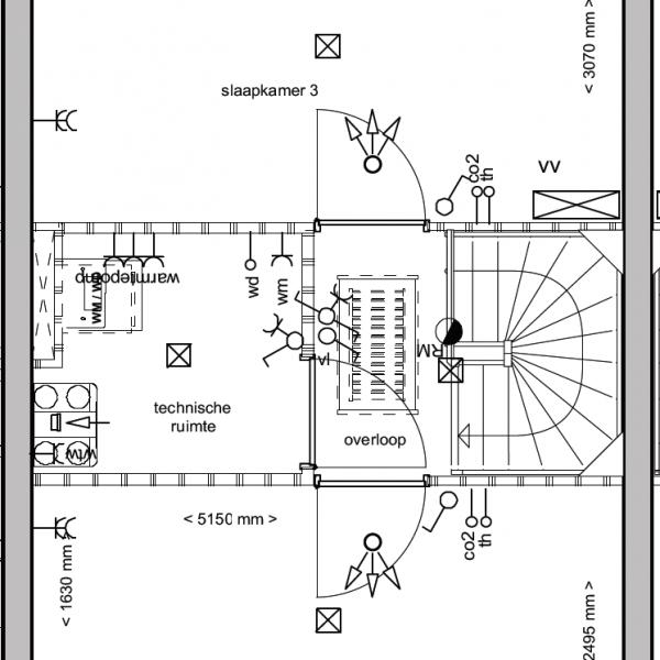 Herenhuizen - binnentuin, bouwnummer 13