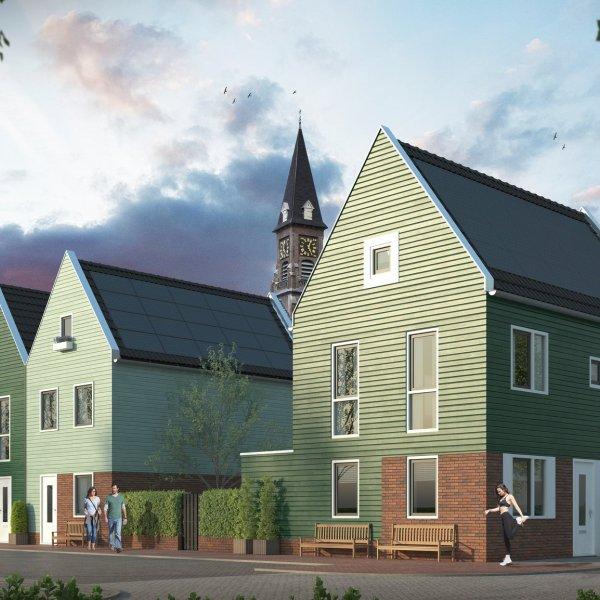 Halfvrijstaand Zaans Huis, bouwnummer 3
