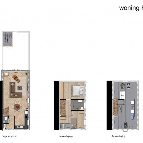 Halfvrijstaand Zaans Huis, bouwnummer 9