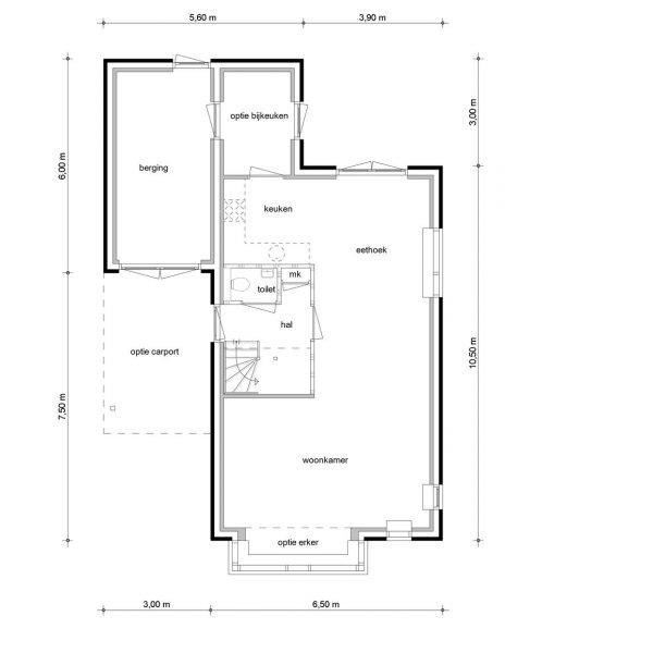 Vrijstaande woningen, bouwnummer 9