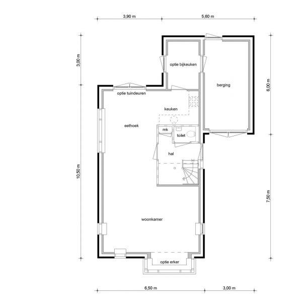 Vrijstaande woningen, bouwnummer 15