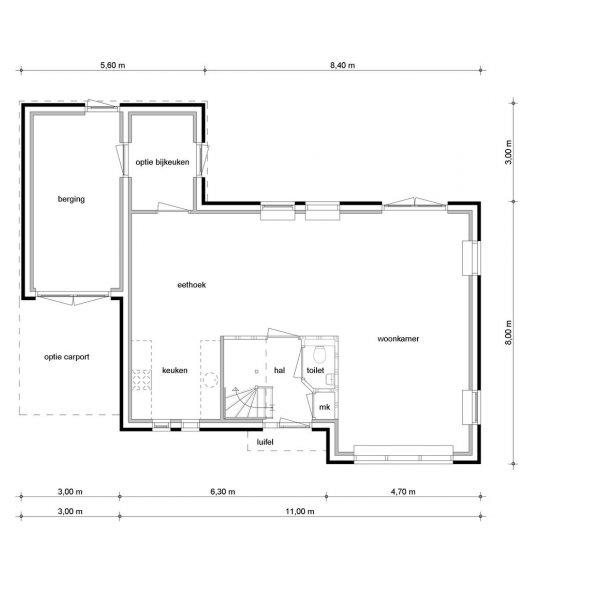 Vrijstaande woningen, bouwnummer 33