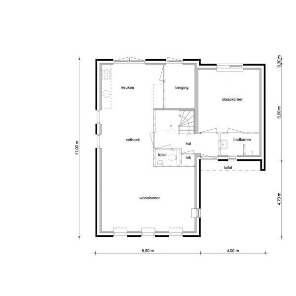 Vrijstaande woningen, bouwnummer 34
