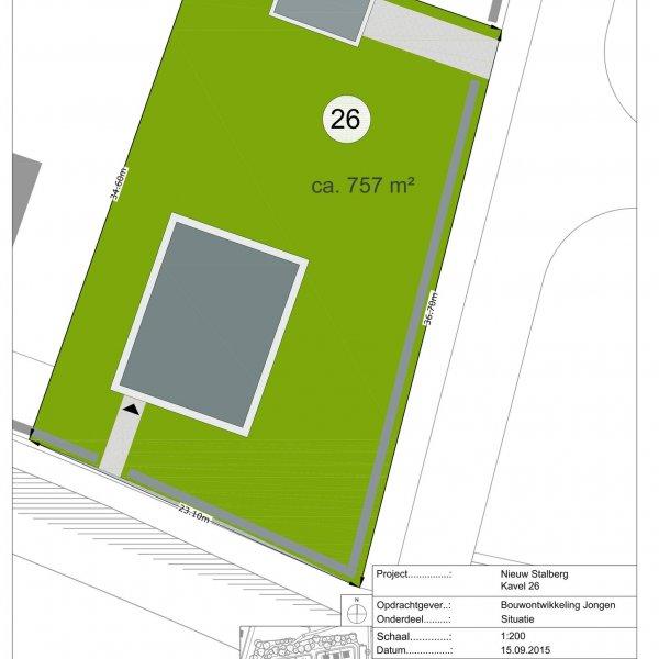 Nieuw Stalberg, fase 2, 15 bouwkavels, bouwnummer 26