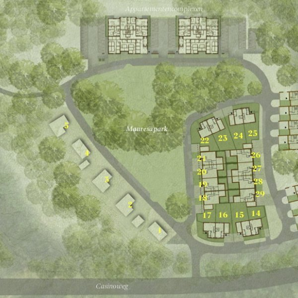 Nieuw Manresa - Levensloopbestendige boswoningen, bouwnummer 13