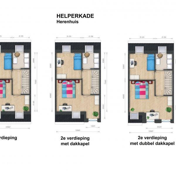 Helperkade - Herenhuizen, bouwnummer 38