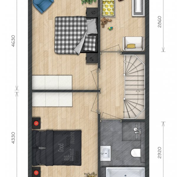 Helperkade - Herenhuizen, bouwnummer 40