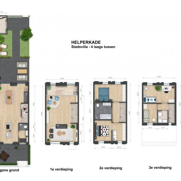 Helperkade - Stadsvilla's, bouwnummer 28