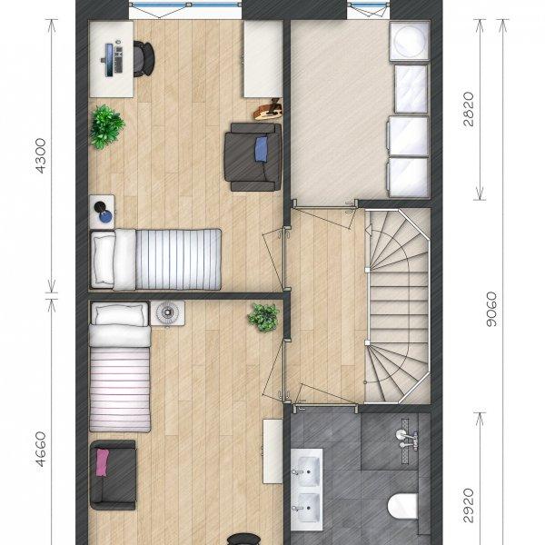Helperkade - Stadsvilla's, bouwnummer 30