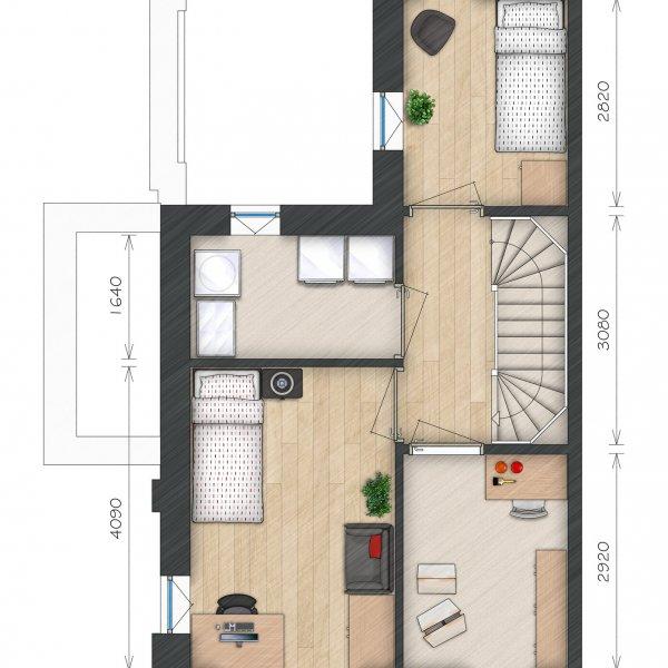 Helperkade - Stadsvilla's, bouwnummer 34