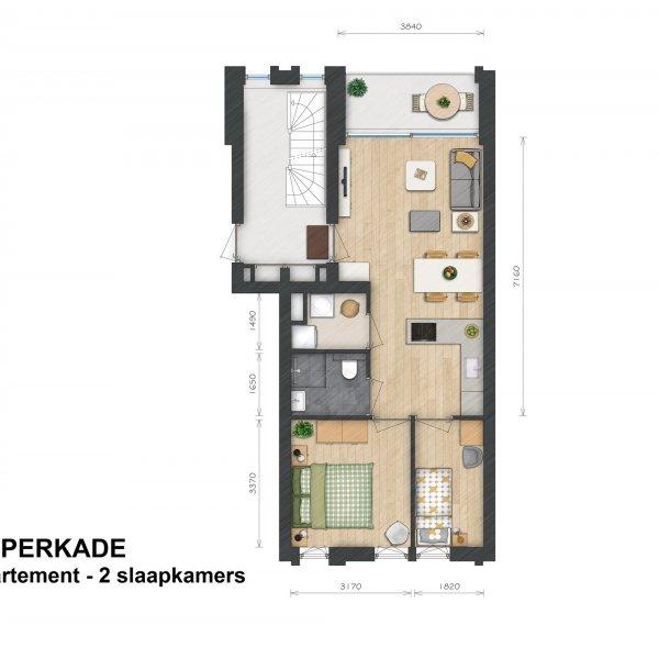 Helperkade - Appartementen, bouwnummer 12