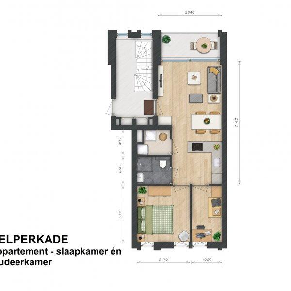 Helperkade - Appartementen, bouwnummer 14