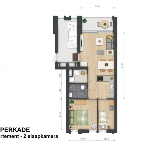 Helperkade - Appartementen, bouwnummer 16