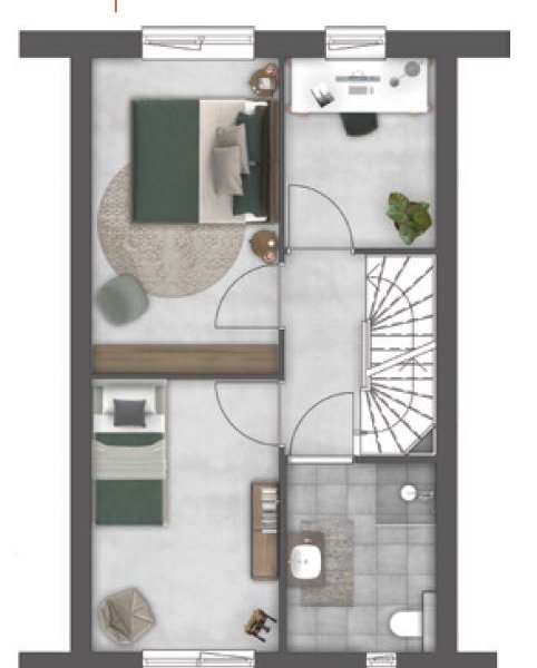 Singelwoningen, bouwnummer 26