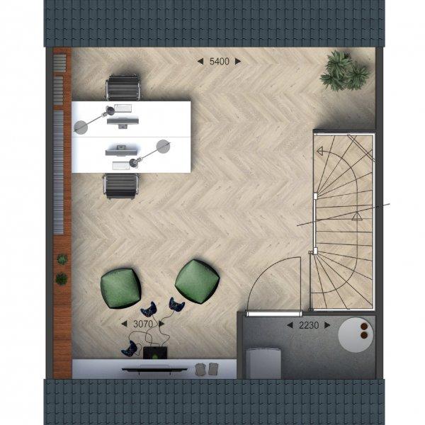 Eengezinswoningen, bouwnummer 2