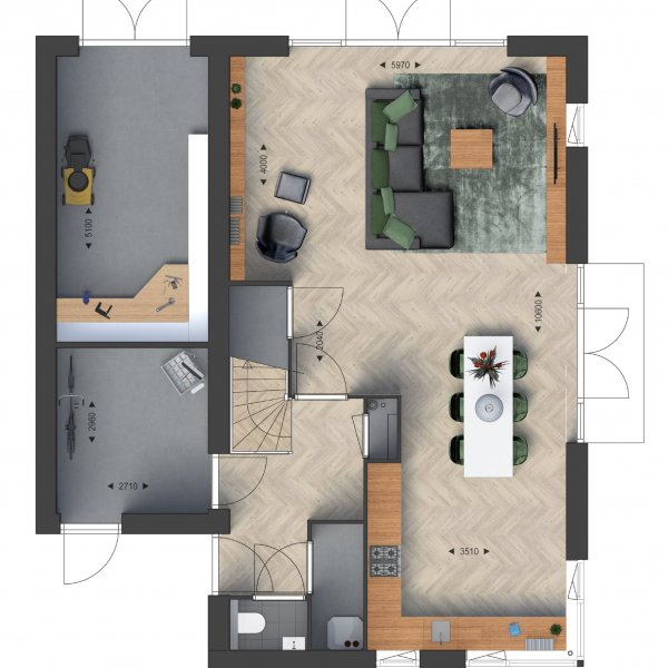 Vrijstaande woningen, bouwnummer 30