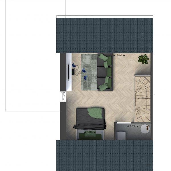 Hoekwoningen, bouwnummer 22