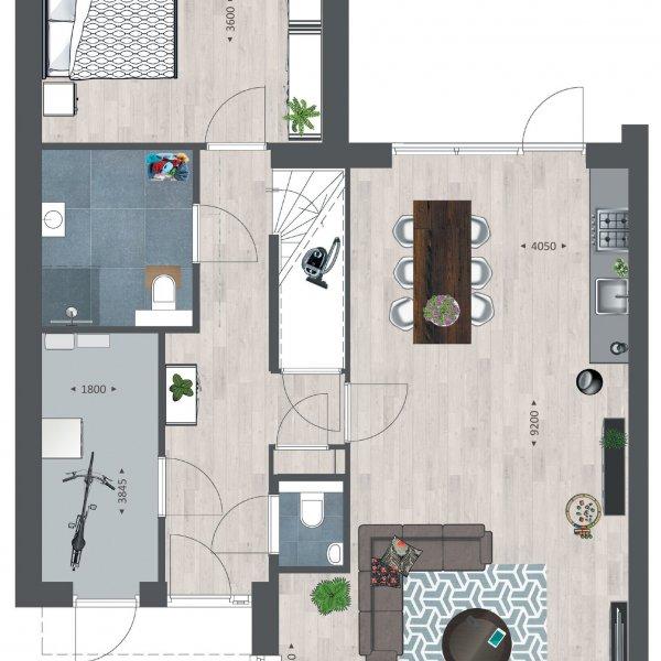 Tichellande semi-bungalows, bouwnummer 329