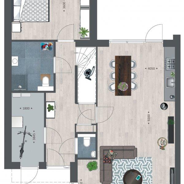 Tichellande semi-bungalows, bouwnummer 337