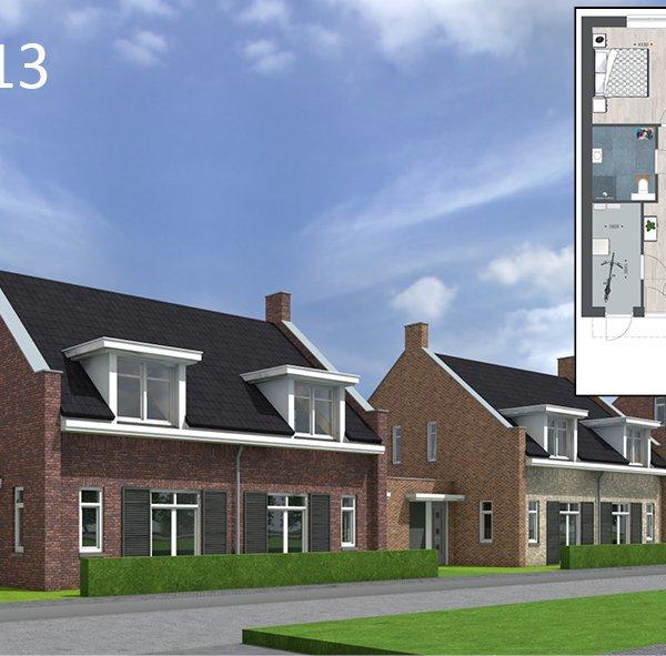 Tichellande semi-bungalows, bouwnummer 340