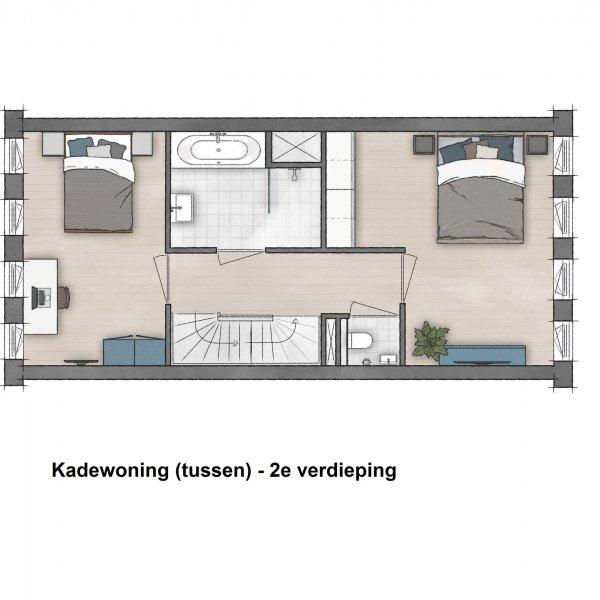 Westerwal - Kadewoningen, bouwnummer 22