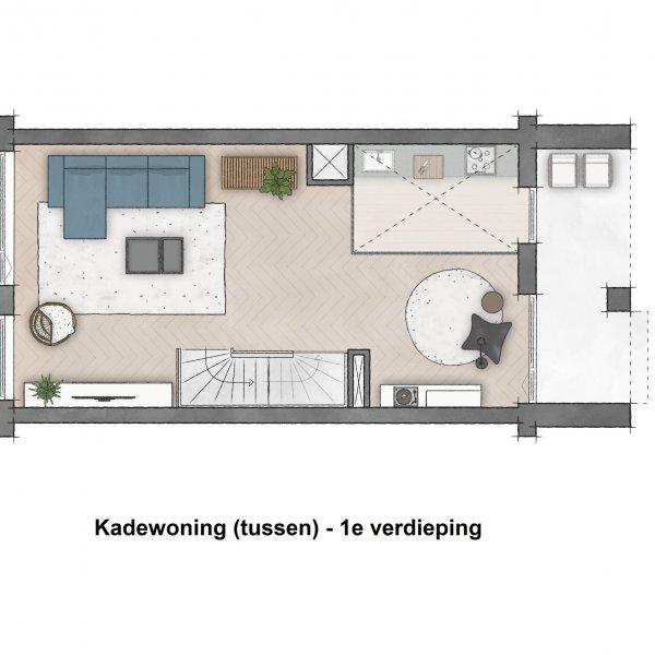 Westerwal - Kadewoningen, bouwnummer 21