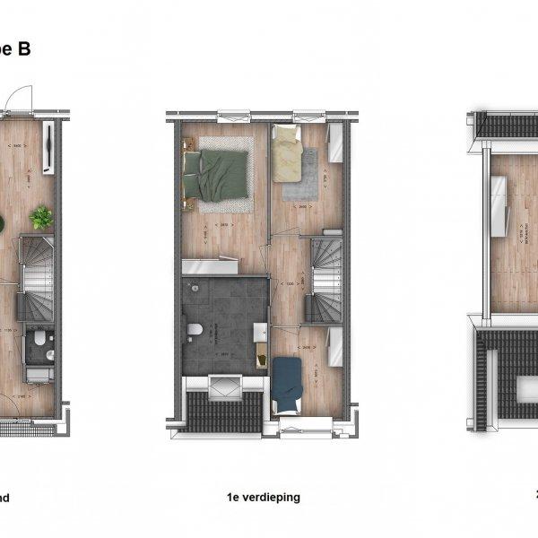 De Vossenburglaan - Rijwoningen, bouwnummer 8