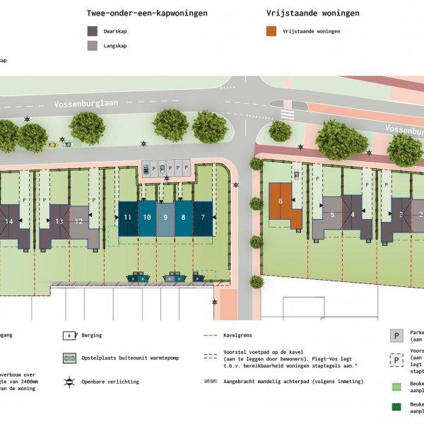 De Vossenburglaan - Rijwoningen, bouwnummer 9