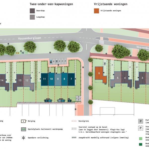 De Vossenburglaan - Rijwoningen, bouwnummer 11