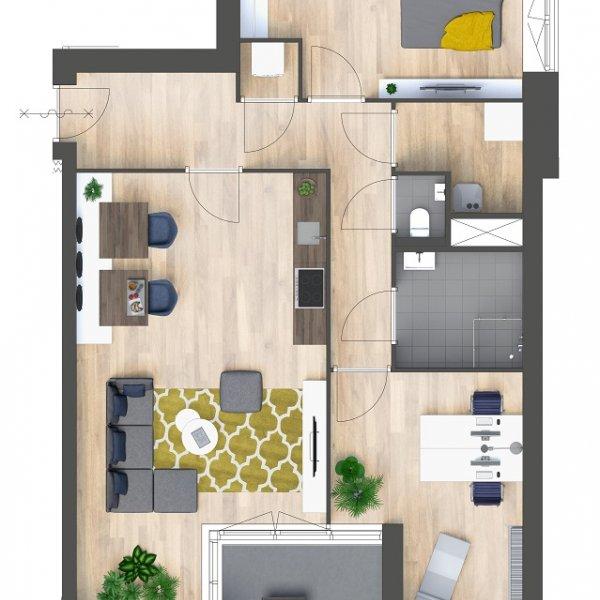 Appartementen, bouwnummer 19
