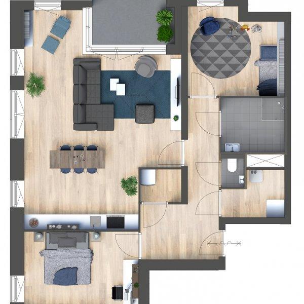Appartementen, bouwnummer 22